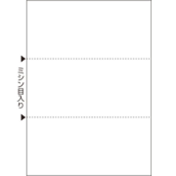画像1: BPC2004マルチプリンタ帳票 複写タイプ A4 ノーカーボン 白紙 2面 4穴 (1)