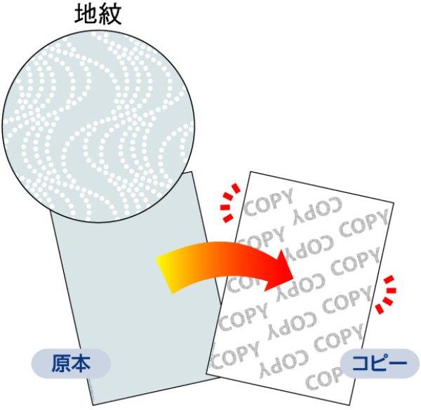 画像1: BP2060Zマルチプリンタ帳票 コピー偽造予防用紙 浮き文字タイプ A4ヒサゴ伝票 (1)