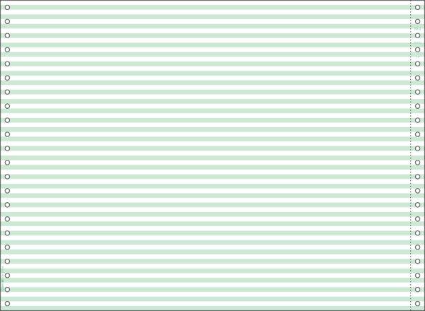 """画像1: GP56Gストックフォーム 15""""×11"""" ヨコアミ グリーンヒサゴ(hisago)サプライ用紙伝票 (1)"""