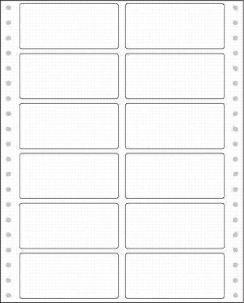 画像1: PA332Fタックシール2連12面 PCA、ピーシーエー専用伝票 (1)