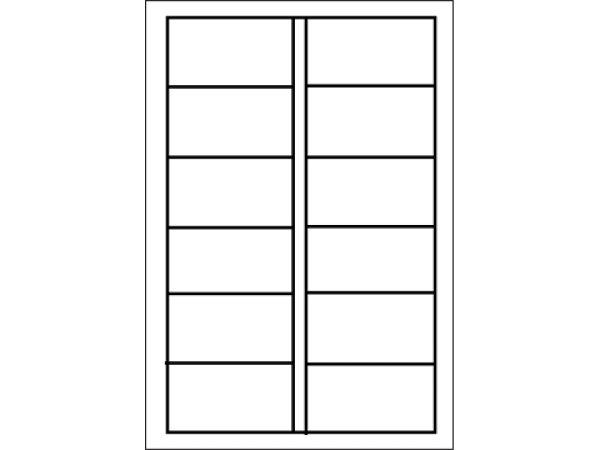 画像1: LT-22単票タックシール(OBC2連用) OBC(オービック)奉行専用伝票 (1)