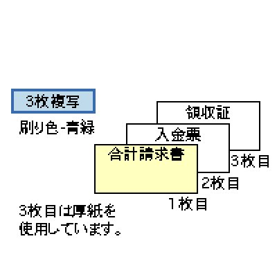 画像1: GB999合計請求書ヒサゴ(hisago)ドットインパクトプリンター用サプライ用紙伝票
