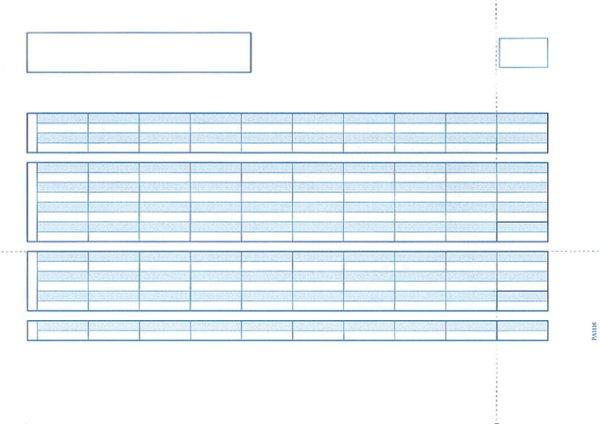 画像1: PA1116F給与明細書単票C PCA給与じまん、ピーシーエー給与専用伝票 (1)